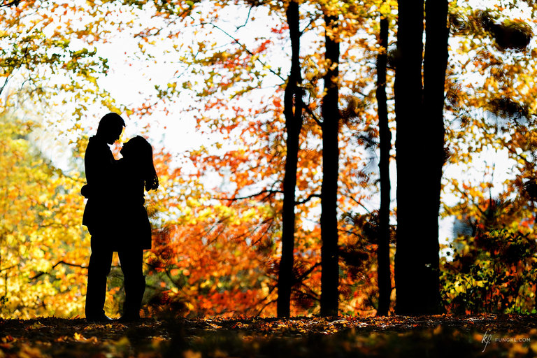 Fall engagement session by Toronto Photographer Kevin Fung of Fungke Images